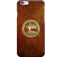 Celtic Tree of Life, Yggdrasil  [Gold] iPhone Case/Skin