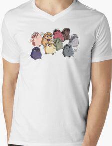 Shall We Pio? Mens V-Neck T-Shirt