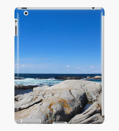 Nova Scotia Ocean Beach iPad Case/Skin
