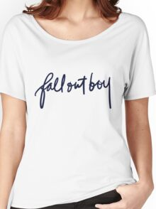 FALL OUT BOY TUMBLR Women's Relaxed Fit T-Shirt