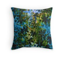 Vintage Flower Pattern Throw Pillow