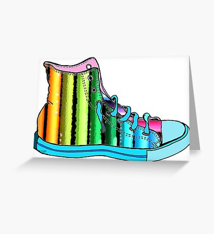 Pencil Shoe Greeting Card