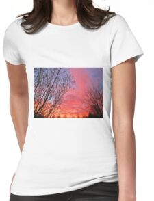 While You Were Sleeping Womens Fitted T-Shirt