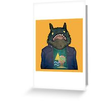 Monster Holiday Greeting Card