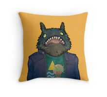 Monster Holiday Throw Pillow