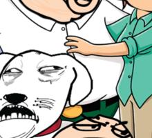 Family Guy Meme/Rage Faces Sticker