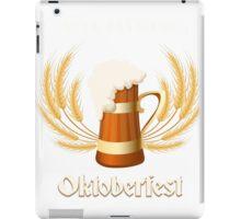 Beer Festival Emblem iPad Case/Skin