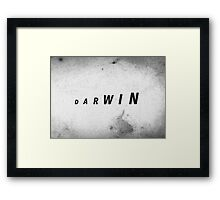 Darwin's Evolution Framed Print