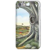 Silent Witness...(on craft foam) iPhone Case/Skin