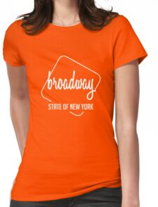 Broadway Of New York Womens Fitted T-Shirt