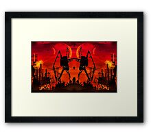 The Night Attack Framed Print