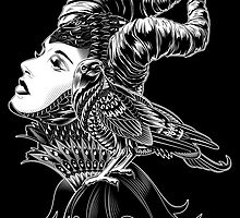 Malificent Tribute by BioWorkZ
