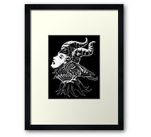 Malificent Tribute Framed Print