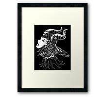 Malificent Tribute Framed Print