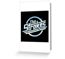 The Strokes Band Greeting Card