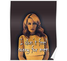 Gillian Anderson feels no sorry for men Poster