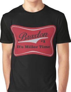 Braxton - Miller Time #1 - Houston Texans - Blue Graphic T-Shirt