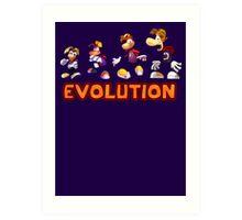 Rayman Evolution Art Print