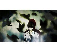 Death Note Kira Photographic Print