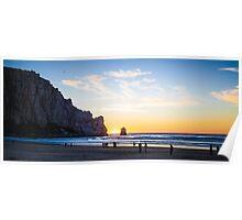 Morro Bay - Last Sunset of 2014 Poster