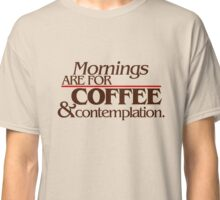 Stranger Things - Mornings Classic T-Shirt