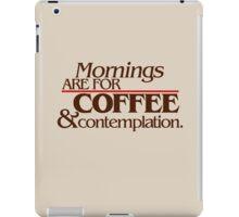 Stranger Things - Mornings iPad Case/Skin