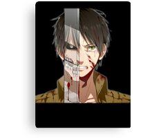 Past Eren's pain Canvas Print