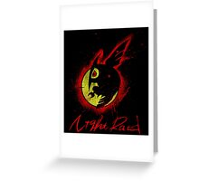 Night Raid Greeting Card