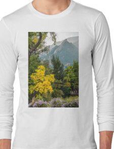 Flatirons Fall Silhoette Long Sleeve T-Shirt