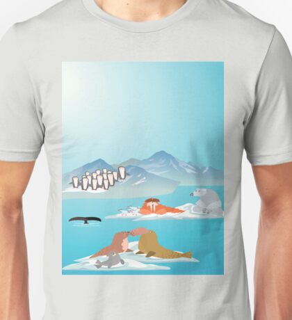 North Pole Unisex T-Shirt