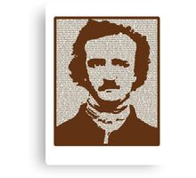 Edgar Allan Poe w/ border! Canvas Print