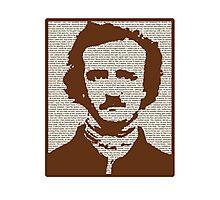 Edgar Allan Poe w/ border! Photographic Print