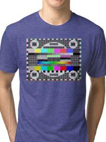 MIRE NO SIGNAL VHS Tri-blend T-Shirt