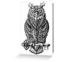Great Horned Owl Greeting Card
