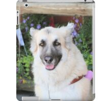 Silly pup iPad Case/Skin