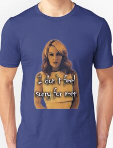Gillian Anderson feels no sorry for men Unisex T-Shirt