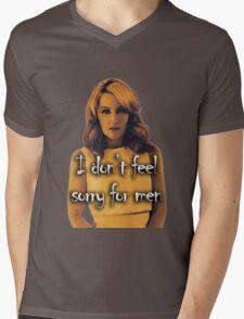 Gillian Anderson feels no sorry for men Mens V-Neck T-Shirt