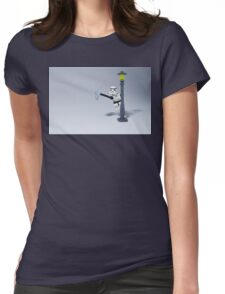 Sing in the rain Womens Fitted T-Shirt
