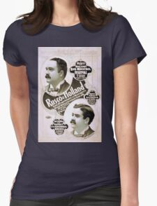 Performing Arts Posters Rusco Holland sole proprietors and managers more money invested than any minstrel firm in the world the progressive minstrel managers 1987 Womens Fitted T-Shirt