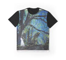 She Wondered as Often as She Wandered  Graphic T-Shirt