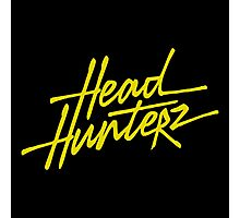 headhunterz logo Photographic Print