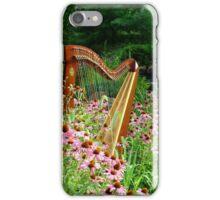 Floral Harp II iPhone Case/Skin