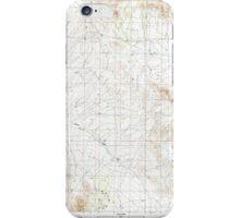 USGS TOPO Map Arizona AZ Steele Hills 313542 1996 24000 iPhone Case/Skin