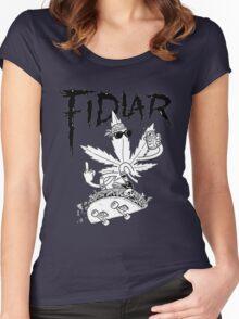 fidlar Women's Fitted Scoop T-Shirt