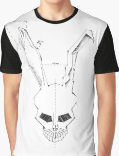 Frank Skull Geometric Clean Graphic T-Shirt
