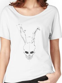 Frank Skull Geometric Clean Women's Relaxed Fit T-Shirt