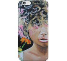 Kissed by Asteraceae iPhone Case/Skin