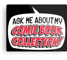 COMIC BOOKS! Metal Print