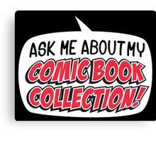 COMIC BOOKS! Canvas Print