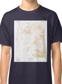 USGS TOPO Map Arizona AZ Kingman SE 311981 1967 24000 Classic T-Shirt
